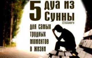 Вид молитвы Дуа Кунут при трудностях: молитвы от проблем и неудач