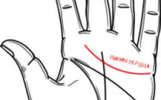 Линия сердца на руке в хиромантии: значение на ладони