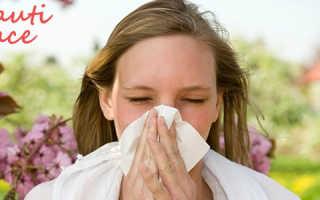 Как устранить аллергическую реакцию на лице и снять порчу
