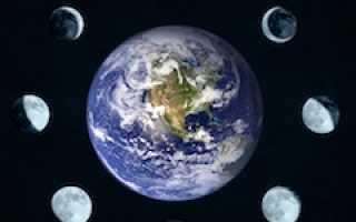 Календарь лунных фаз 2020 года по месяцам
